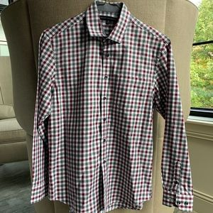 Nordstrom Button down Shirt Size 14